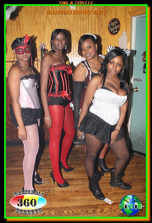 Cavel & Tina's Holleween Costume Party @ Xpressions Night Club 10-30-11
